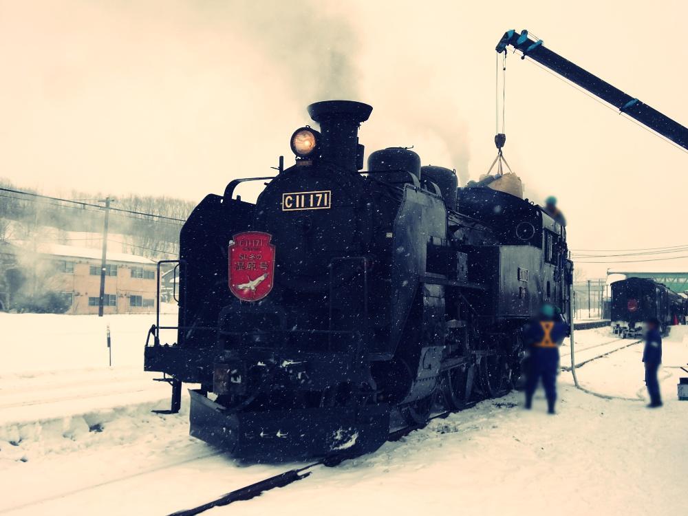SL列車の旅行に行った時の写真