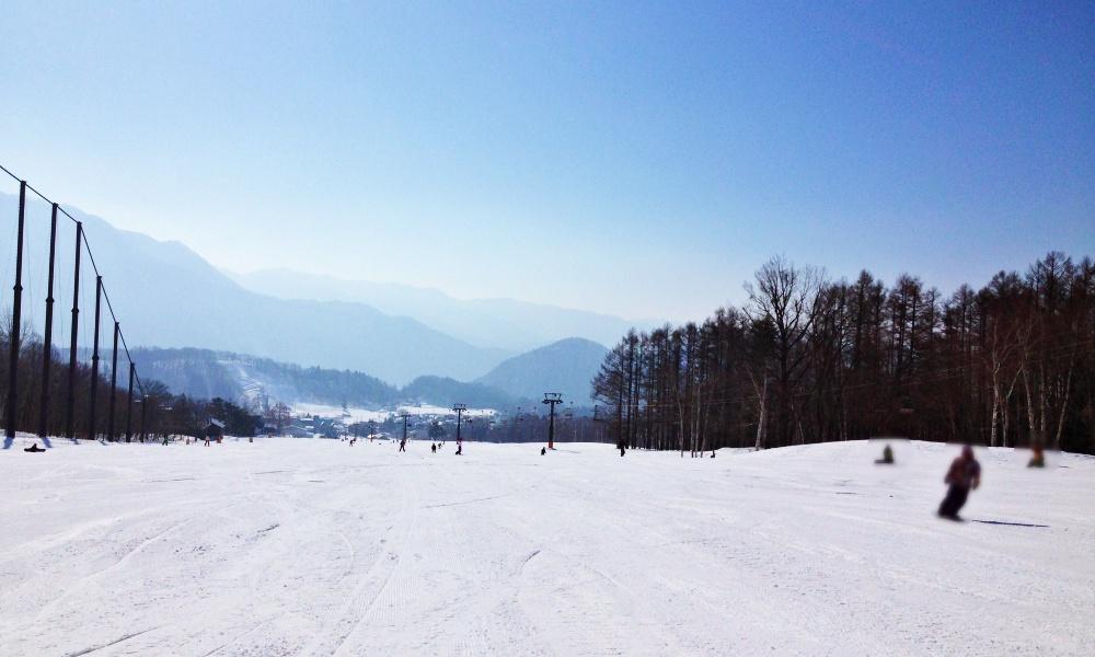 白馬栂池スキー場の写真