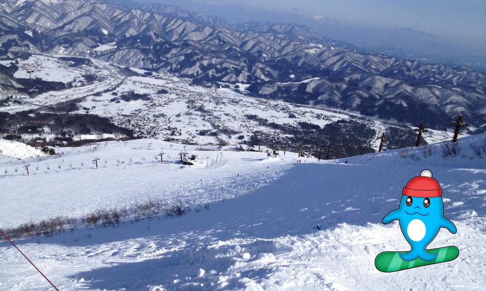 長野県白馬村のスキー場