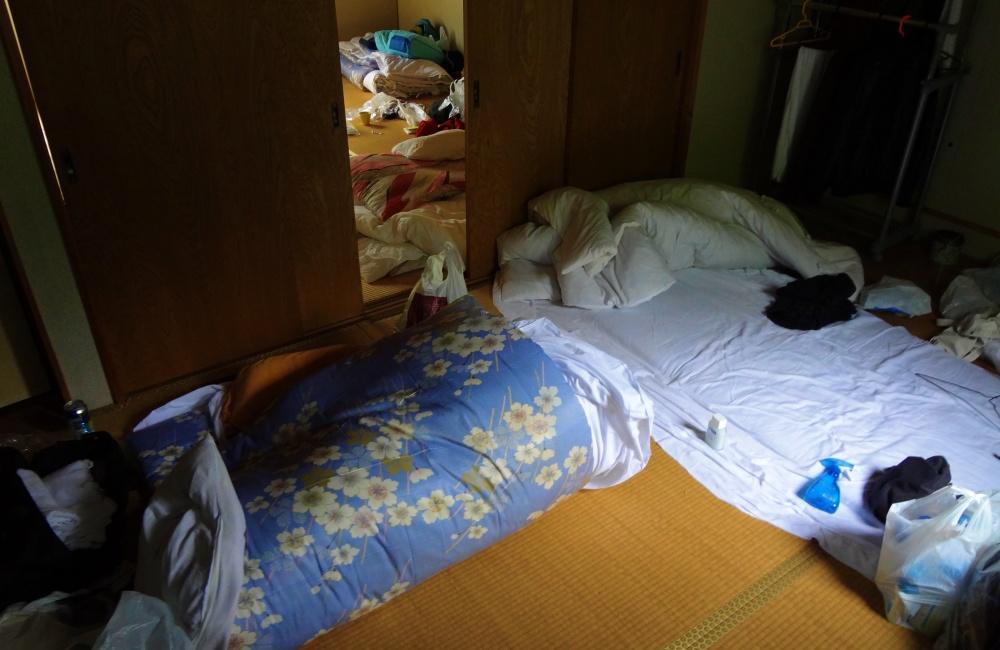 キャンプ場リゾートバイトの寮